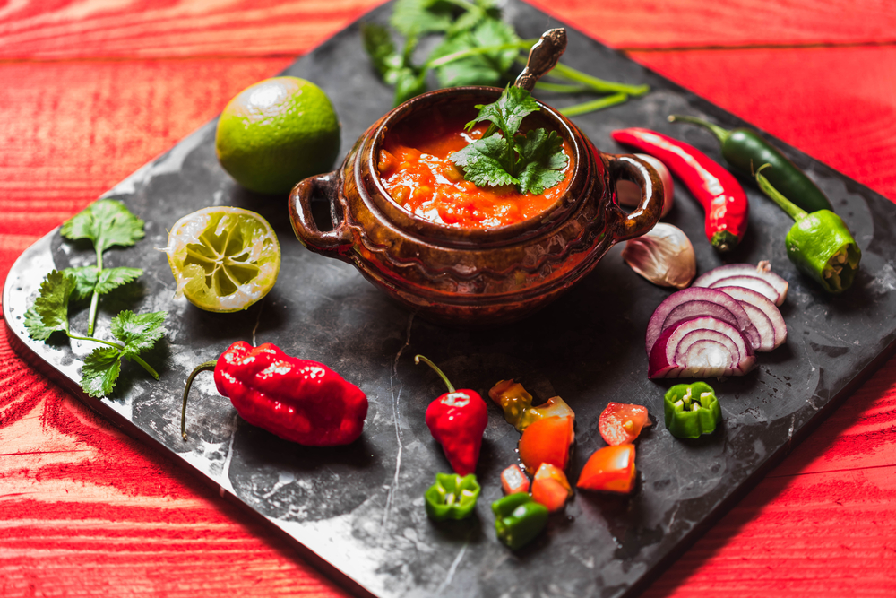 salsa-and-ingredients